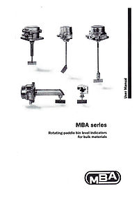 Operating Instructions MBA2.2/3.2