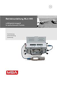 Betriebsanleitung MLA900