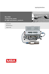 Operating Instructions MLA900