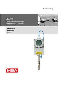 Betriebsanleitung MLA1000