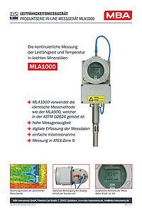Datenblatt MLA1000