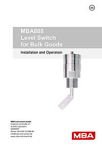 Operating Instructions MBA888